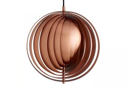 Panton Moon Lamp jetzt auch in Kupfer erhältlich