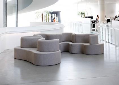 Cloverleaf Sofa von Verner Panton