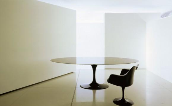 Saarinen Tulip Tisch & Stuhl