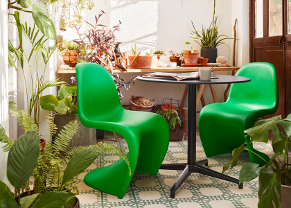 Limited Edition: Panton Chair in Grün