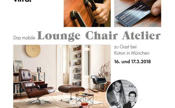 Lounge Chair Atelier bei Koton am 16. und 17.3.2018
