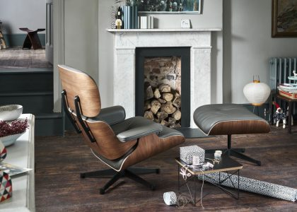LIMITIERT: MAHAGONI LOUNGE CHAIR